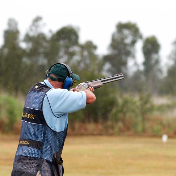 shooting - clay target