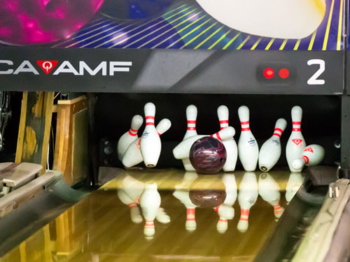 Patricia Puts In A Typically Tireless Effort At Tenpin