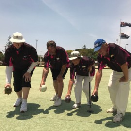 Hickson Family - Lawn Bowls