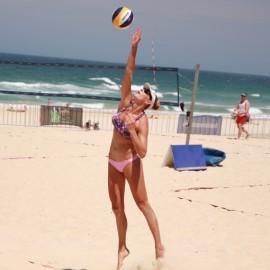 Justine Mowen - Beach Volleyball