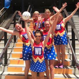 Wonder Women netball team