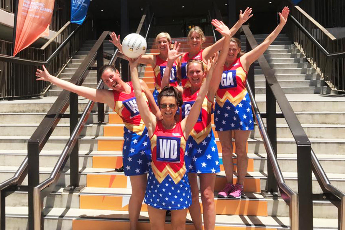 Wonder Women netball team