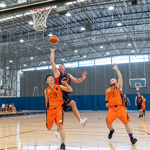 Basketball Pan Pacific Masters Games